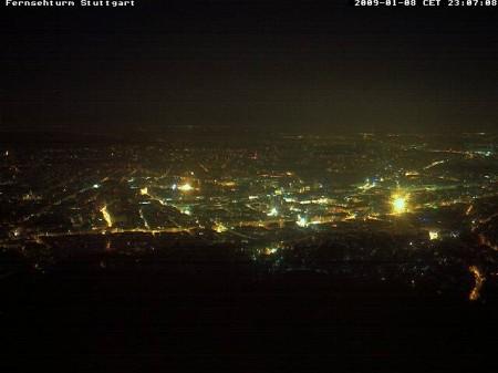 Stuttgart with a view (Fernsehturm Webcam)