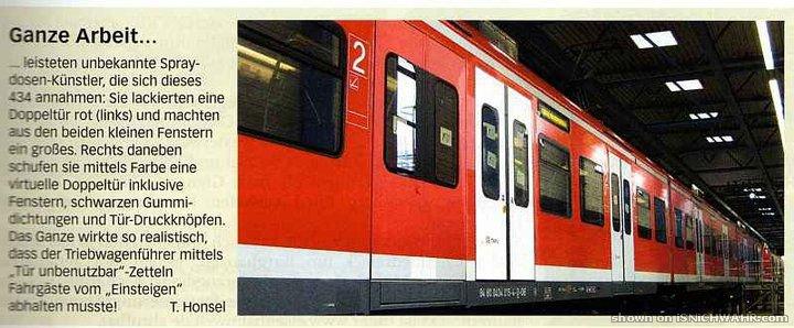 Nachtbus weg – S-Bahnen fahren durch