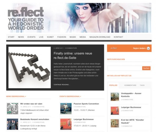 Reflect.de Relaunch