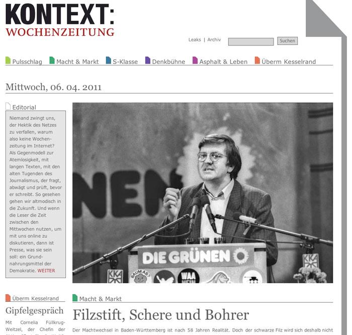 kontext wochenzeitung facebook