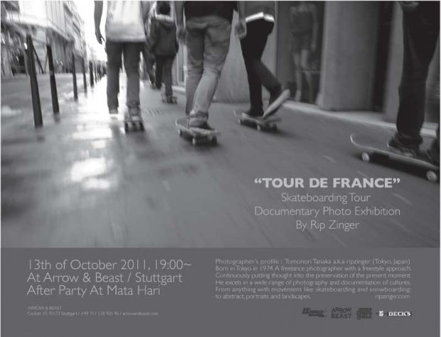 Tour de France: Skateboarding Tour Documentary Photo Exhibition