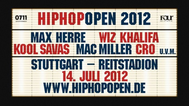 Kool Savas auf dem HipHop Open