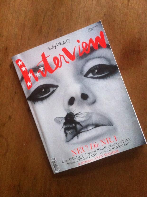 Allerfeinste Pop-Nachhilfe: Andy Warhol sein Interview als deutsche Ausgabe