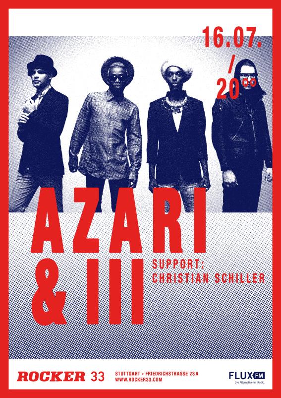 Heute Abend: Azari & III im Rocker