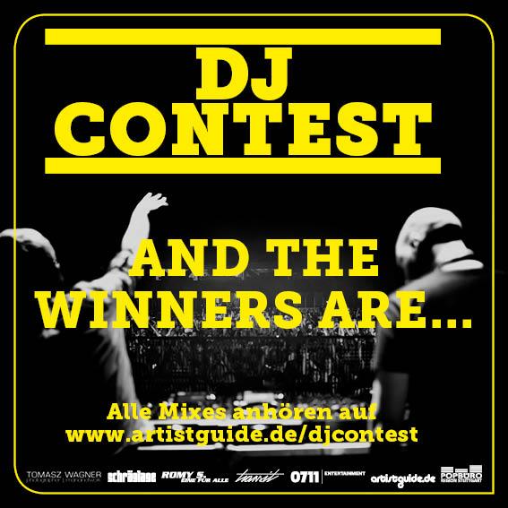 Gewinner DJ-Contest Artist Guide