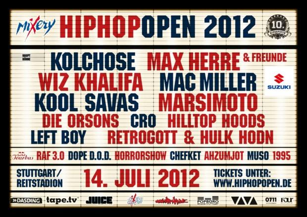 HipHop Open Logistik