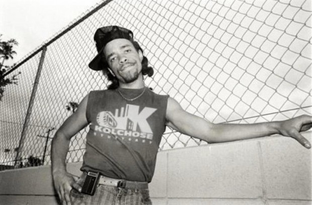 Ice-T im Kolchose Shirt