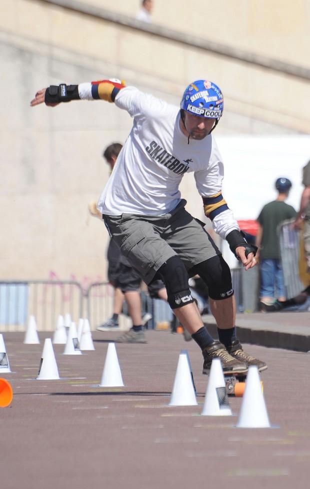 Slalom Skateboard Weltmeisterschaft 2012