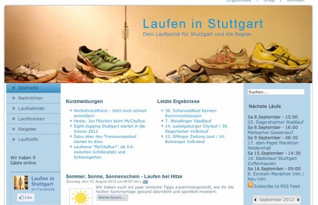 Laufen in Stuttgart