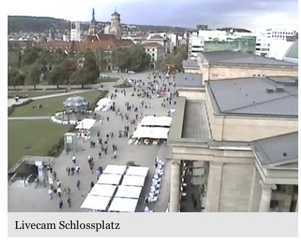 Neue Schlossplatz Cam
