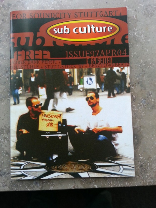 Die Stadt, die Zukunft, die Drogen: Wolfgang Schuster im Sub Culture Interview 1997