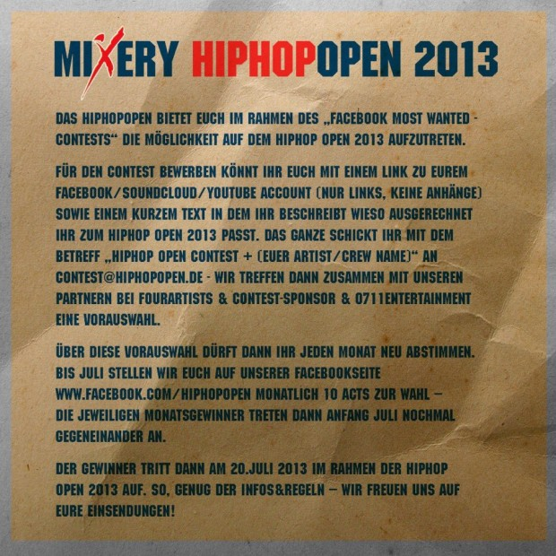 hiphopopen