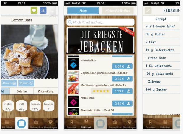 Kochen und kuscheln: neue Apps Stuttgarts
