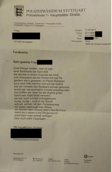 Stuttgarter Polizei-Poeten