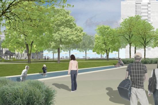 Umgestaltung Stadtgarten