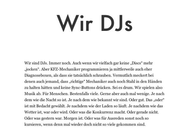 Wir DJs