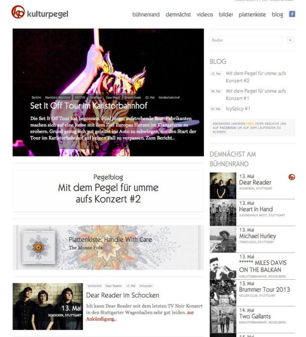Konzertportal Kulturpegel & Brummertour