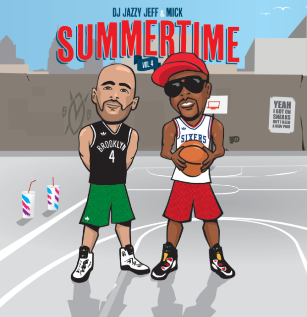 Summertime Vol. 4 Mixtape <br>by Jazzy Jeff & Mick Boogie
