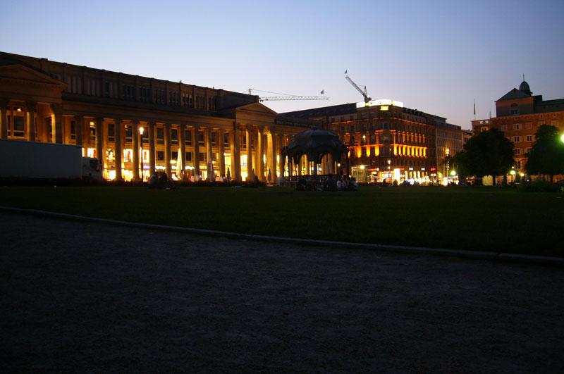 schlosspark-abends