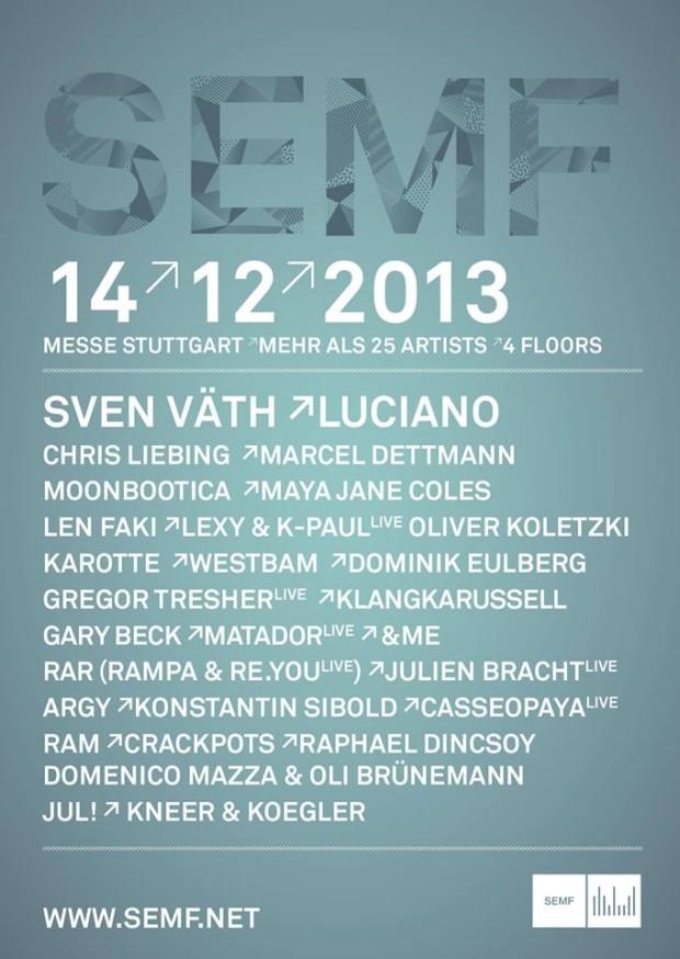 SEMF Line-Up und VVK