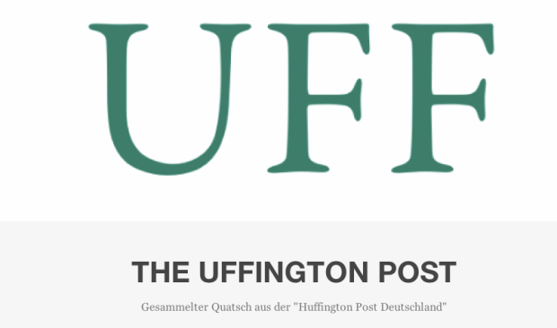 Tumblr des Tages: Uffington Post