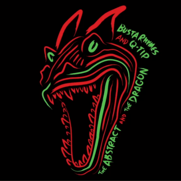 Q-Tip & Busta Rhymes – The Abstract & The Dragon Mixtape