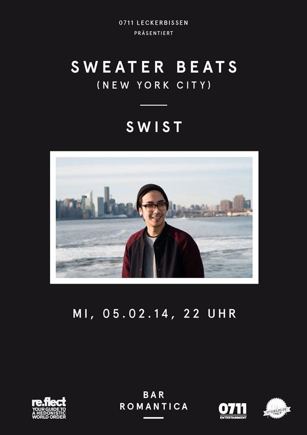 Sweater Beats am Mittwoch