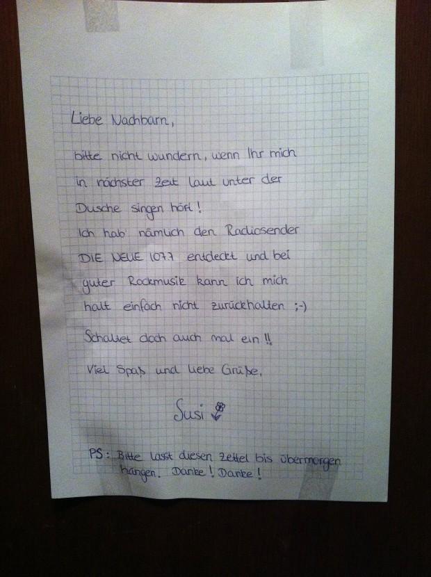 Liebe Nancbarn