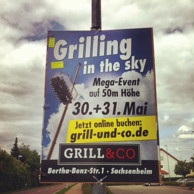 Grilling in the sky