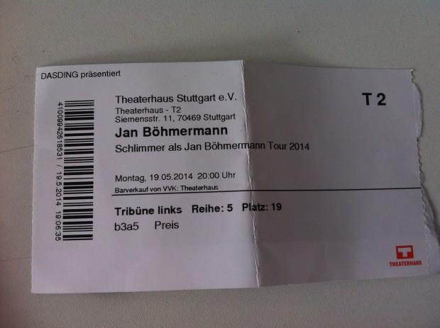 The magic of labern – Jan Böhmermann im Theaterhaus Stuttgart
