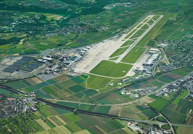 Flughafen Luftbild