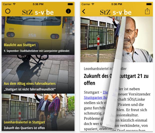 Neue App: S-Vibe