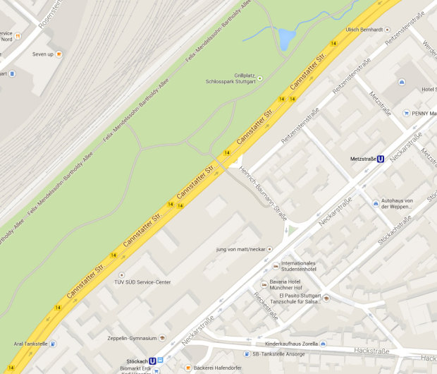 Feinstaub: Dreckigste Straße Deutschlands