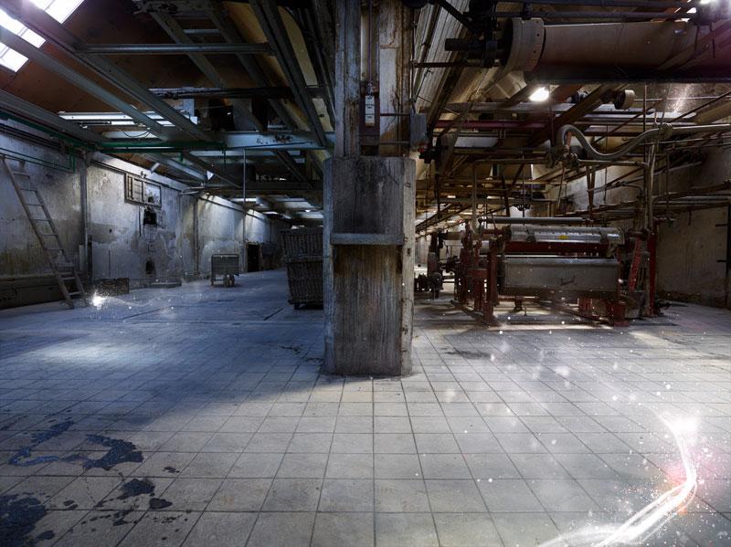 Unfall Papierfabrik