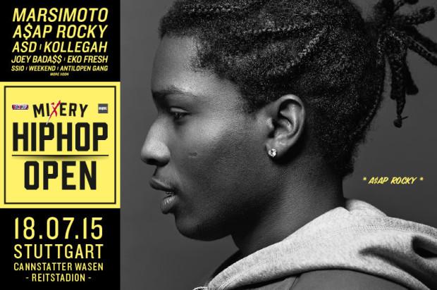 A$AP Rocky auf dem HipHop Open