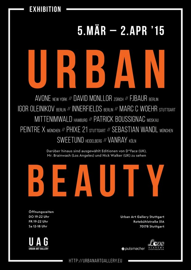 Urban Beauty: Ein Jahr Urban Art Gallery