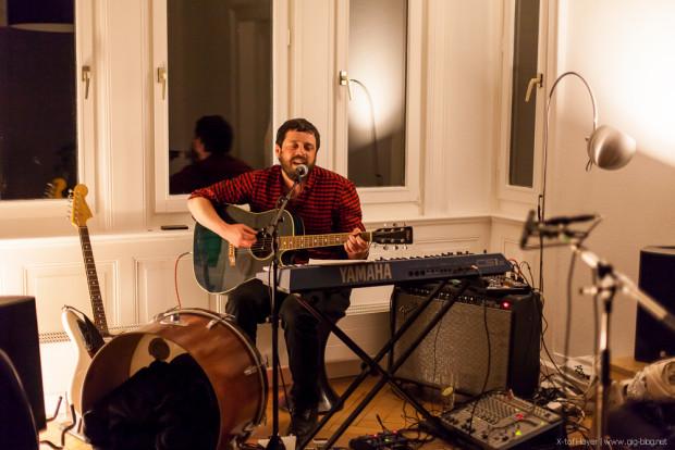 Kessel.TV Radioshow #4: Wohnzimmerkonzert mit Hannes Orange
