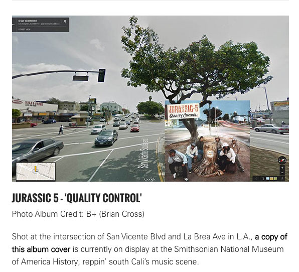 (HipHop) Albums in Street View