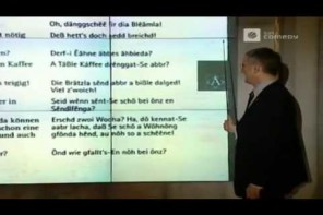 Harald Schmidt – Sprachkurs schwäbisch