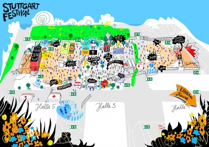 Stuttgart Festival: Final Infos