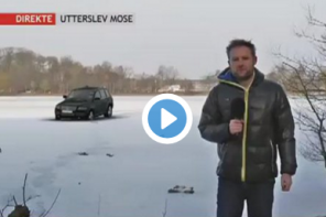 SUV on ICE