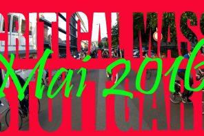 Critical Mass Stuttgart Mai 2016