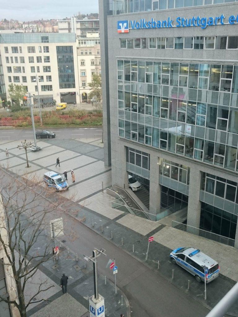 Neue Parkhaus-Zufahrt am Börsenplatz